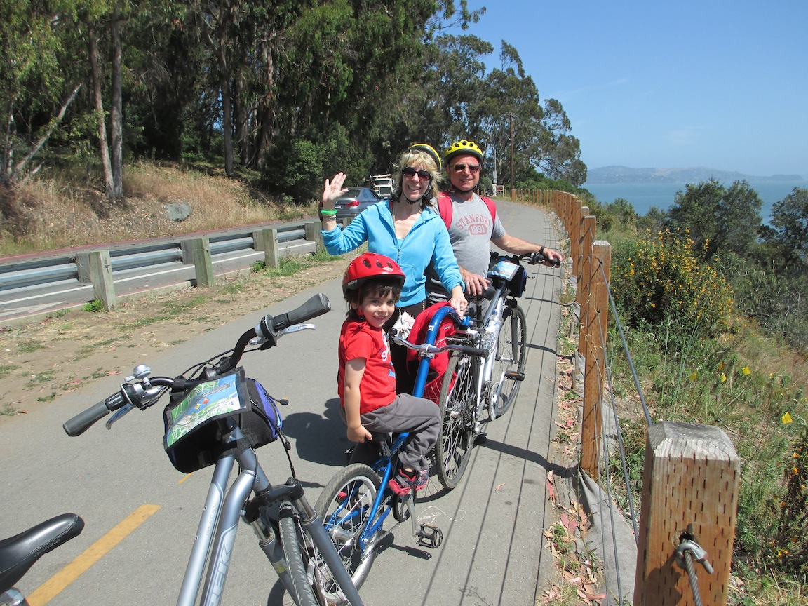 fambike2 San Francisco   A Memorable Two Wheel Adventure, Biking The Golden Gate Bridge