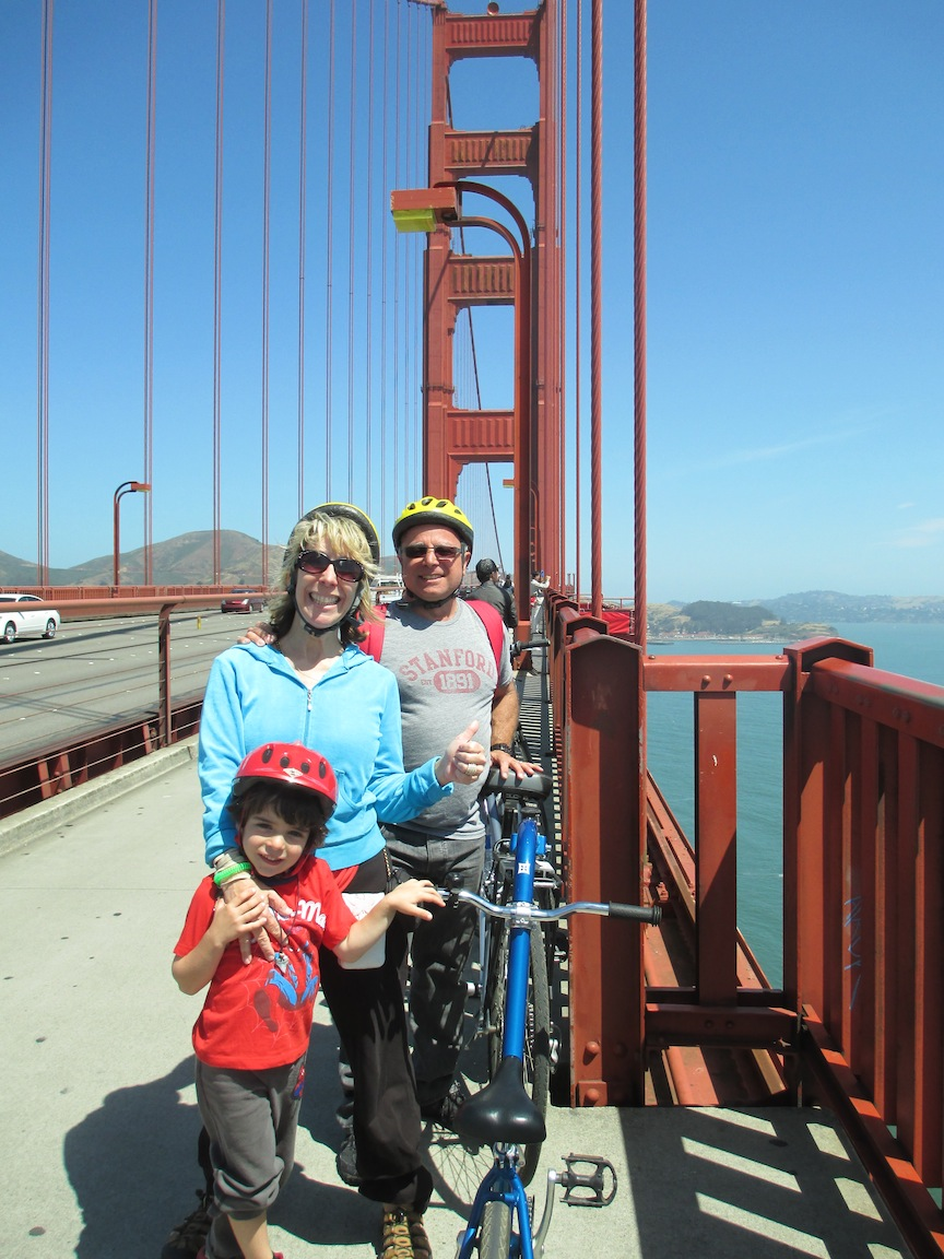 famgate San Francisco   A Memorable Two Wheel Adventure, Biking The Golden Gate Bridge
