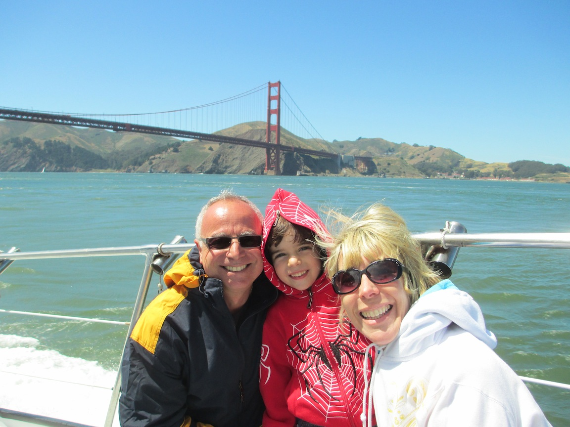 family San Francisco   A Memorable Two Wheel Adventure, Biking The Golden Gate Bridge